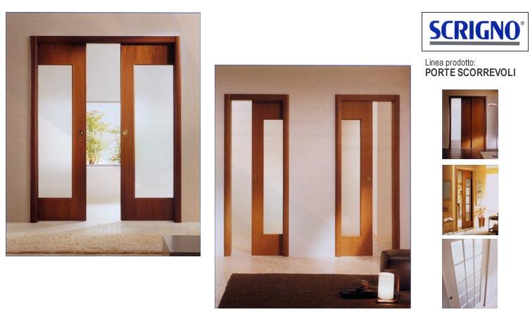 Porte e finestre scorrevoli idrosanitaria piave for Porte scorrevoli scrigno